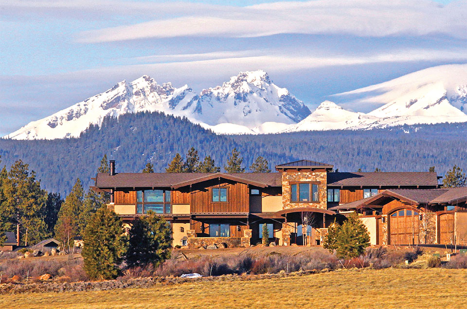 Living Your Dream- Bend House and Mountains