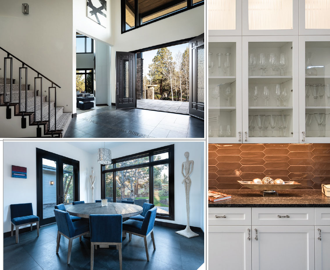 Keeping It Local- Bend Entry, Dining and Kitchen
