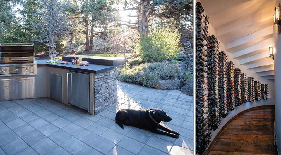 Keeping It Local- Bend Patio and Wine Cellar