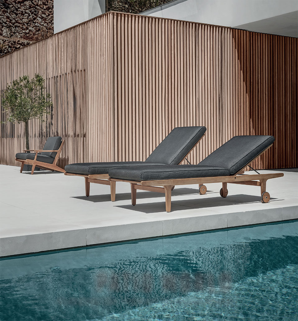 Your Other Room is Waiting Outside- Bend Pool and Chairs