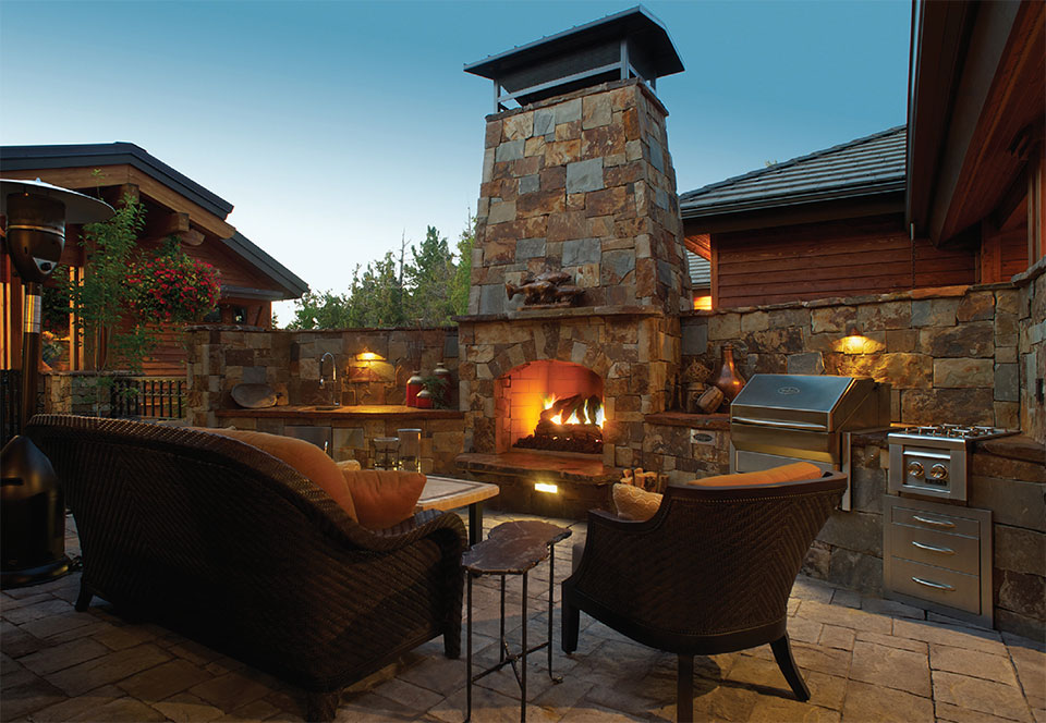 Your Other Room is Waiting Outside- Bend Fire Pit and Lounge