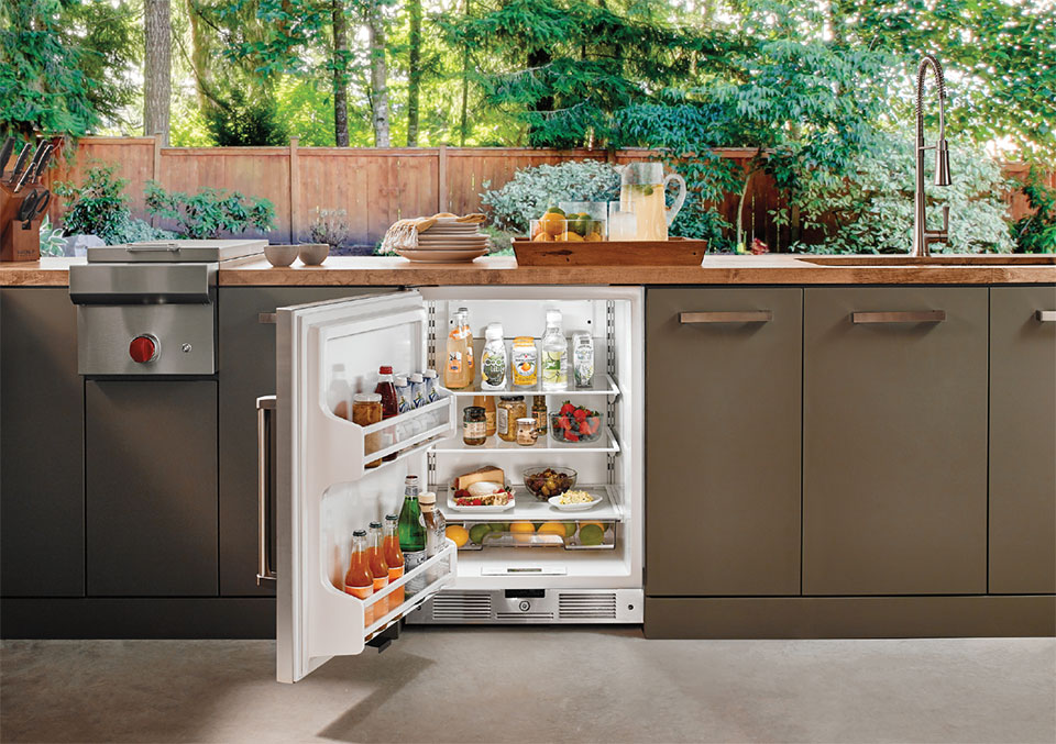 Your Other Room is Waiting Outside- Bend Outdoor Fridge