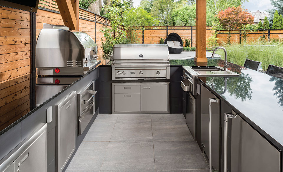 Your Other Room is Waiting Outside- Bend Outdoor Kitchen 2
