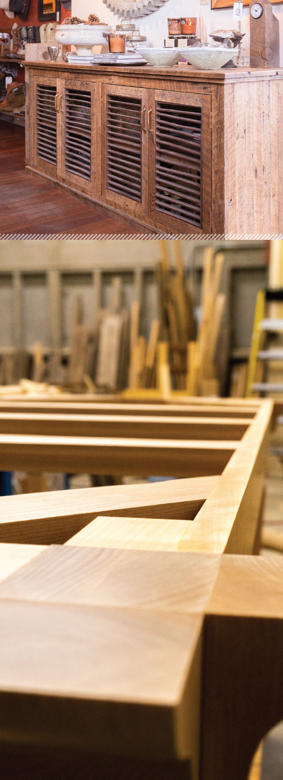 Working With Wood in the Modern West- Bend Cabinet and Framing