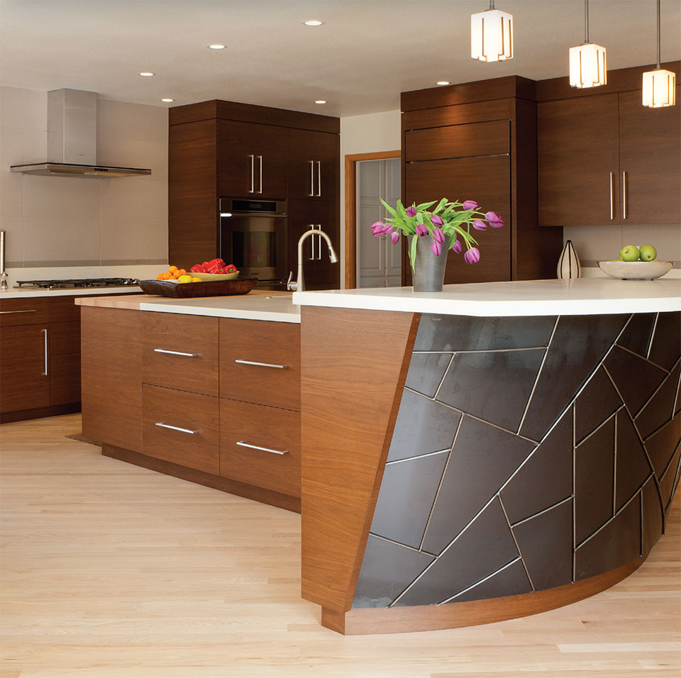 Working With Wood in the Modern West- Bend Cabinets