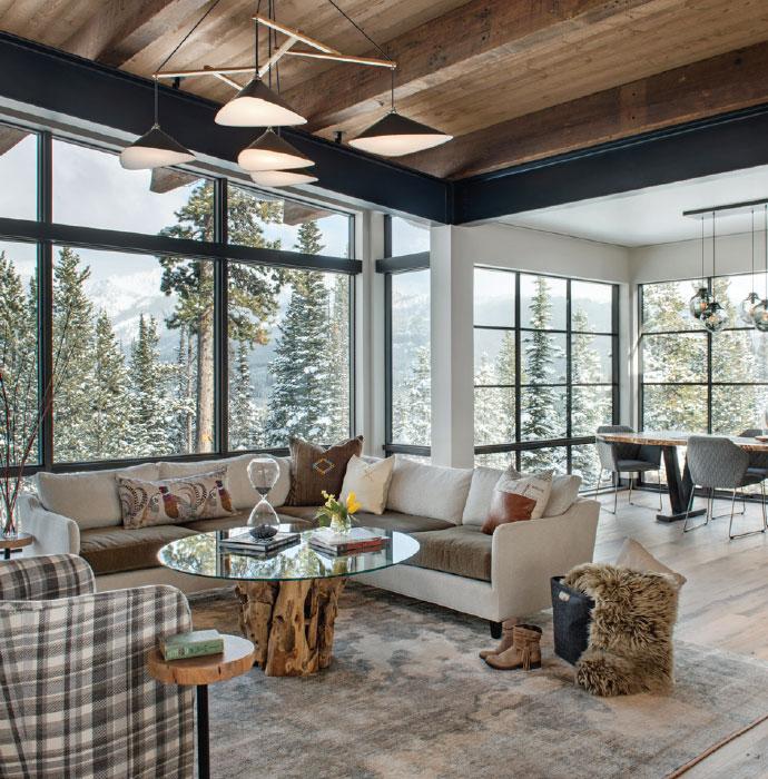 Builders Round Table- Bozeman-Big Sky Living Room 2
