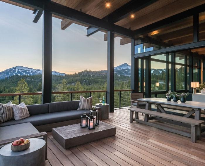 Builders Round Table- Bozeman-Big Sky Patio