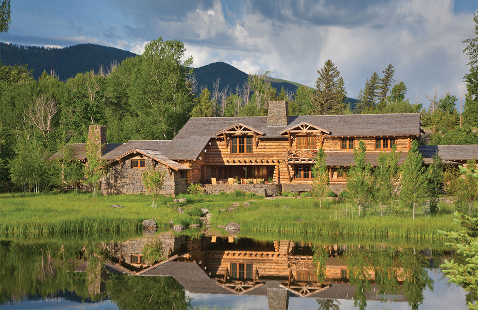 Builders Round Table- Bozeman-Big Sky House and Pond
