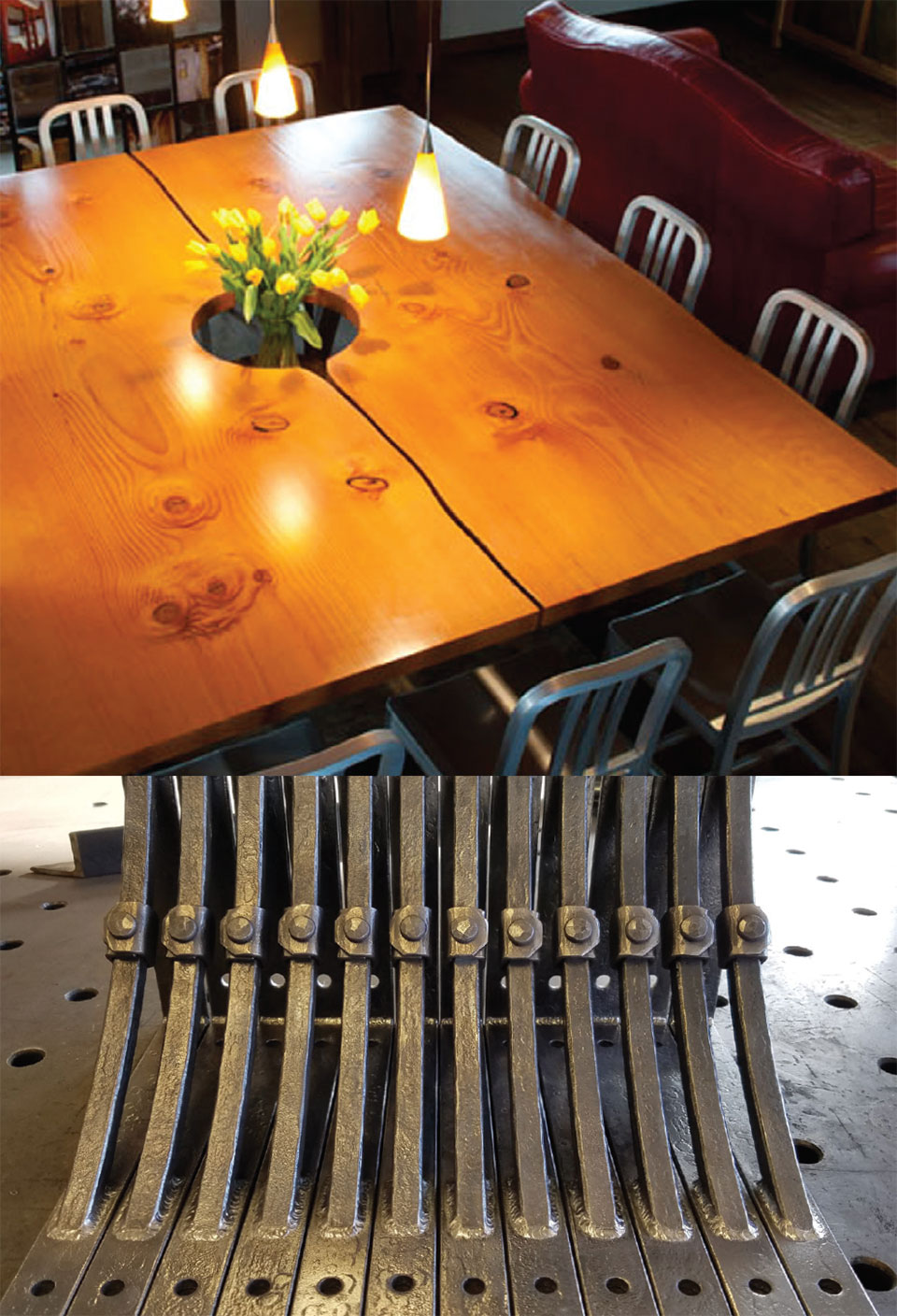 Wood. Metal. & People.- Flathead Valley Table