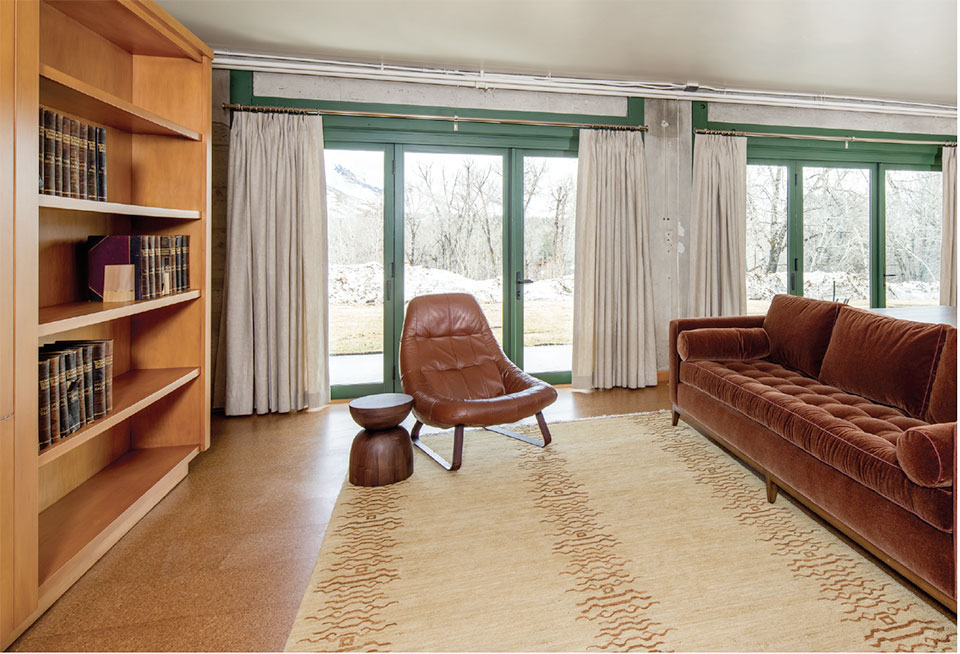 Hemingway Writer-in-Residence Studio- Sun Valley Living Room