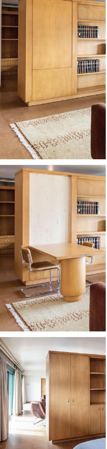 Hemingway Writer-in-Residence Studio- Sun Valley Book Shelf and Study
