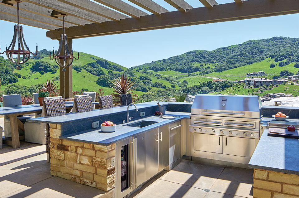 Your Other Room is Waiting Outside- Sun Valley Outdoor Kitchen