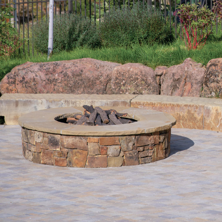 Rooted in the Wood River Valley- Sun Valley Fire Pit