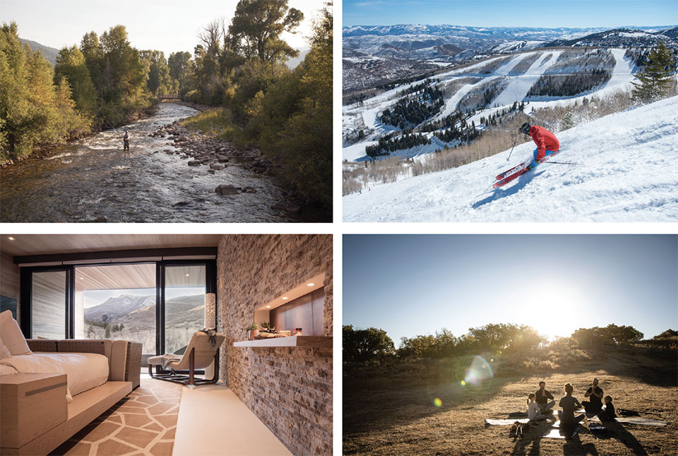 The Lodge at Blue Sky- Park City River, Skiing and Yoga