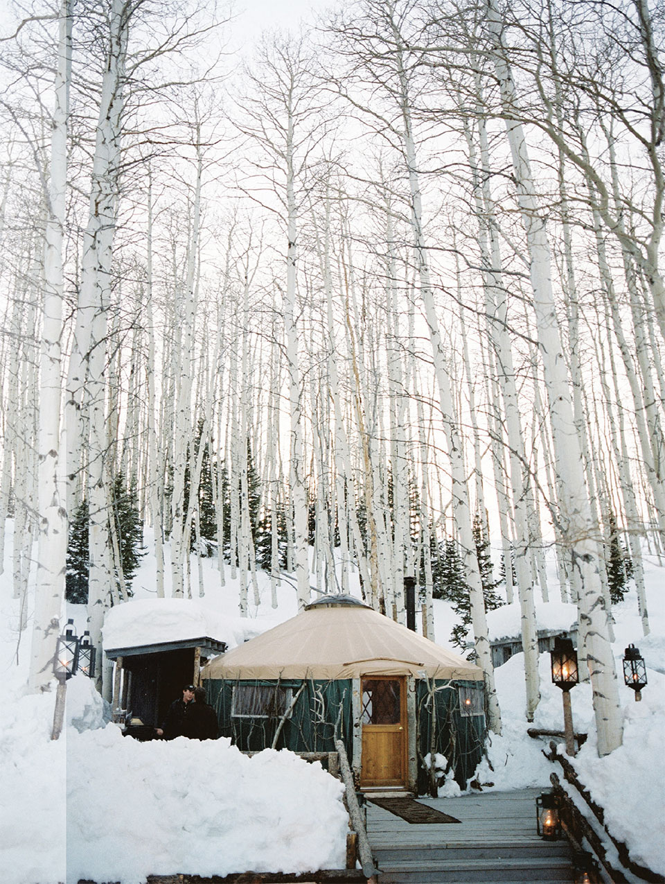 Talisker Club: A Private Wonderland- Park City Yurt