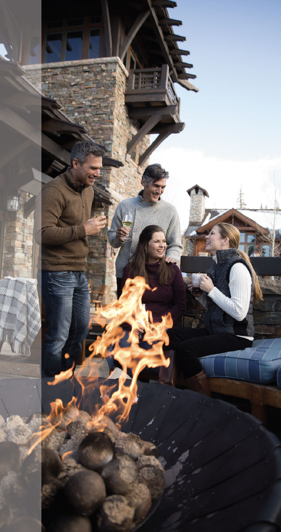 Talisker Club: A Private Wonderland- Park City Fire Pit and Group