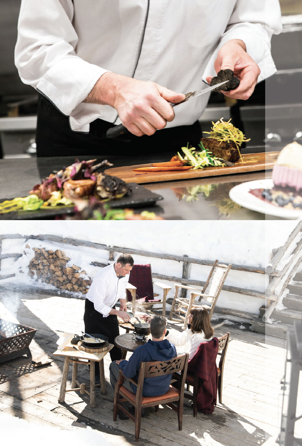 Talisker Club: A Private Wonderland- Park City Chef