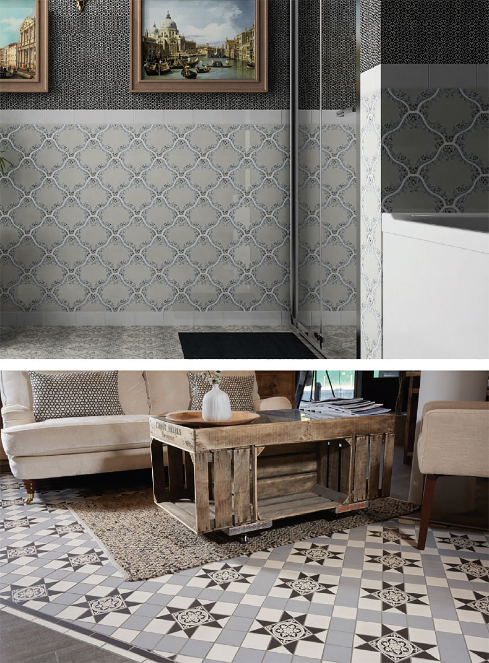 Classing It Up With Tile- Park City Floor