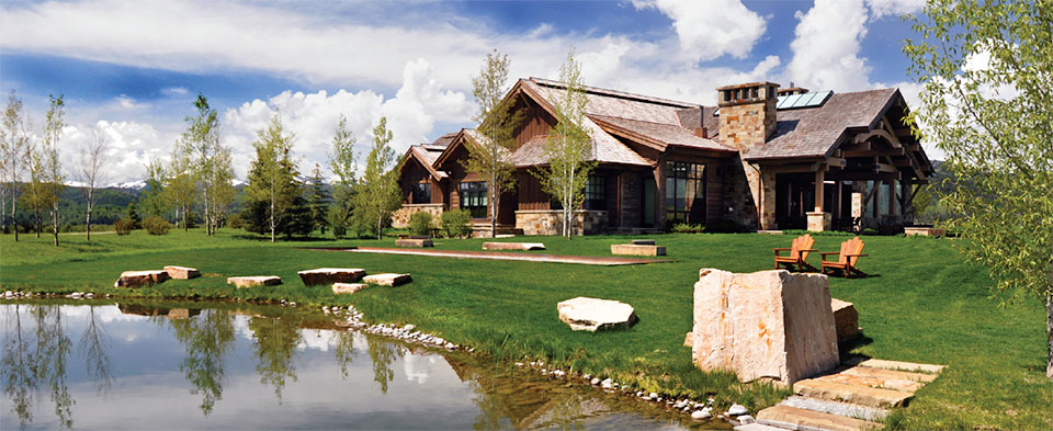 CLEARWATER RESTORATION- Jackson Hole House and Pond