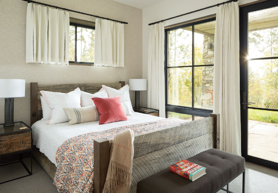DESIGN ASSOCIATES- Jackson Hole Bed Room 2