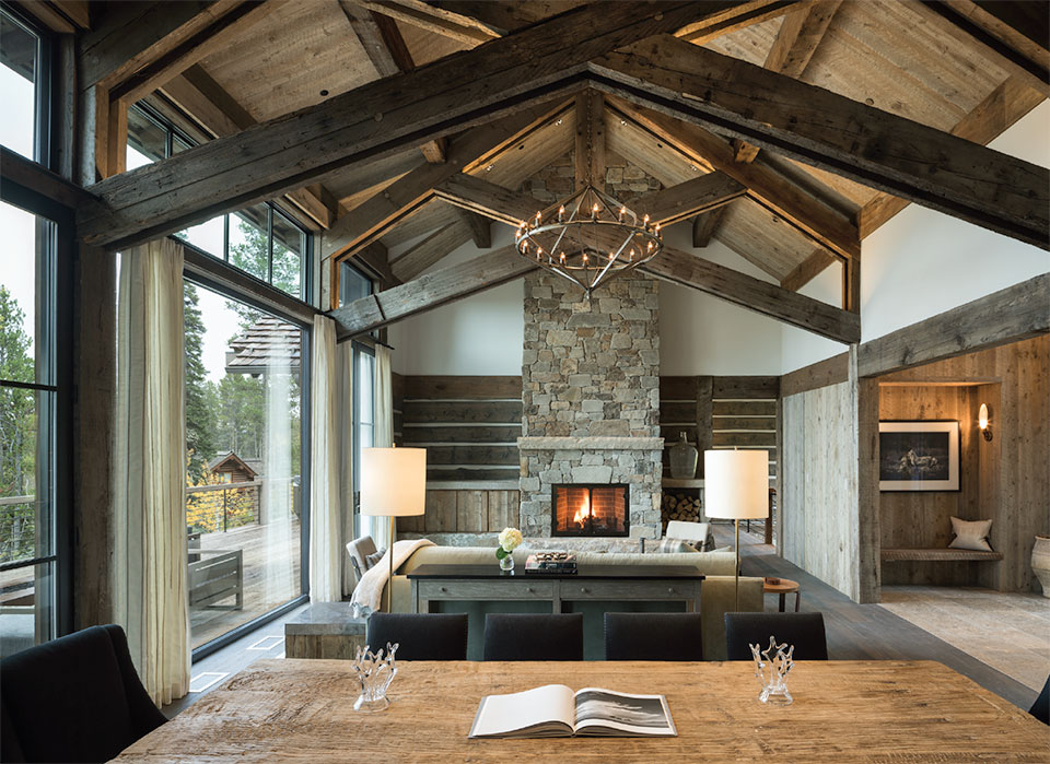 DESIGN ASSOCIATES- Jackson Hole Living Room