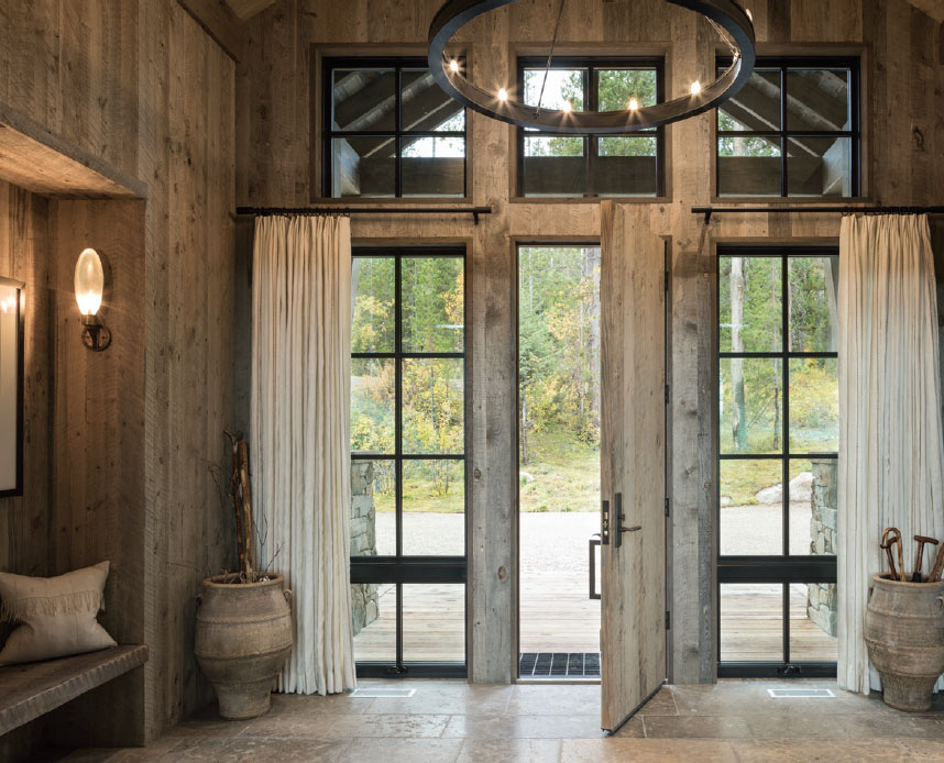 DESIGN ASSOCIATES- Jackson Hole Entry