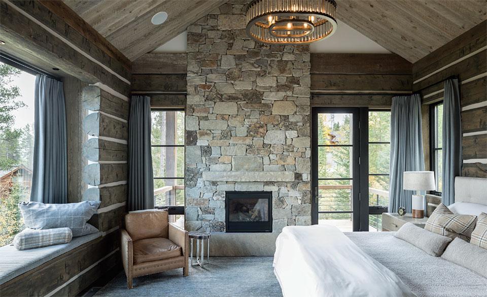 DESIGN ASSOCIATES- Jackson Hole Bedroom
