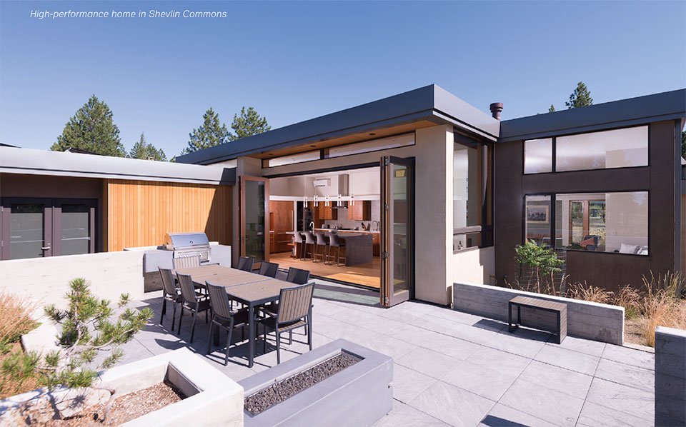 Building Science for A Sustainable Future- Bend Patio