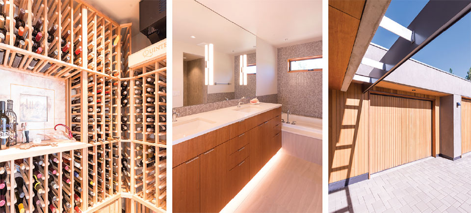 Building Science for A Sustainable Future- Bend Wine Cellar, Bathroom and Garage Door