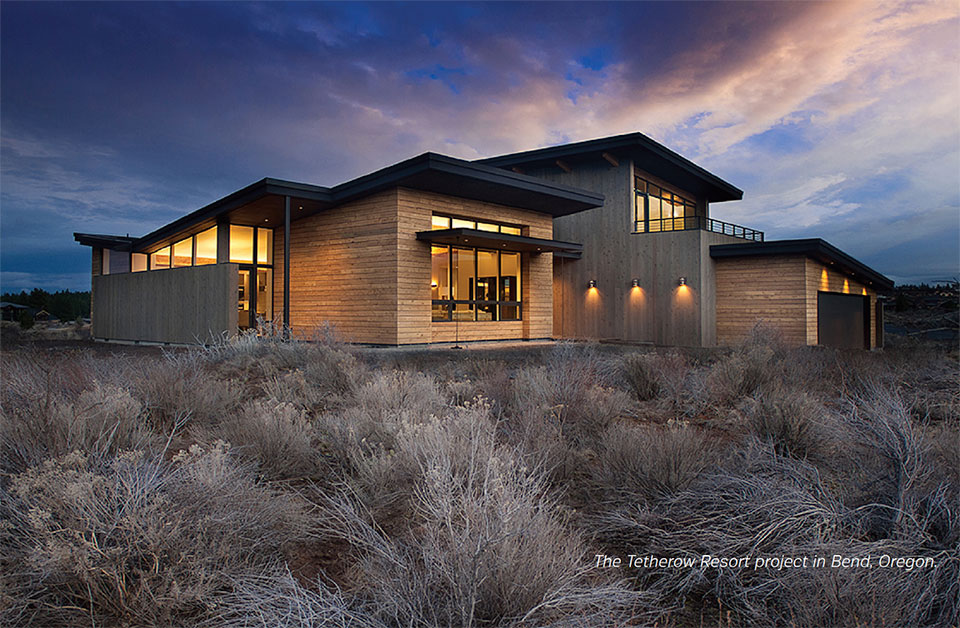 Building Science for A Sustainable Future- Bend Resort