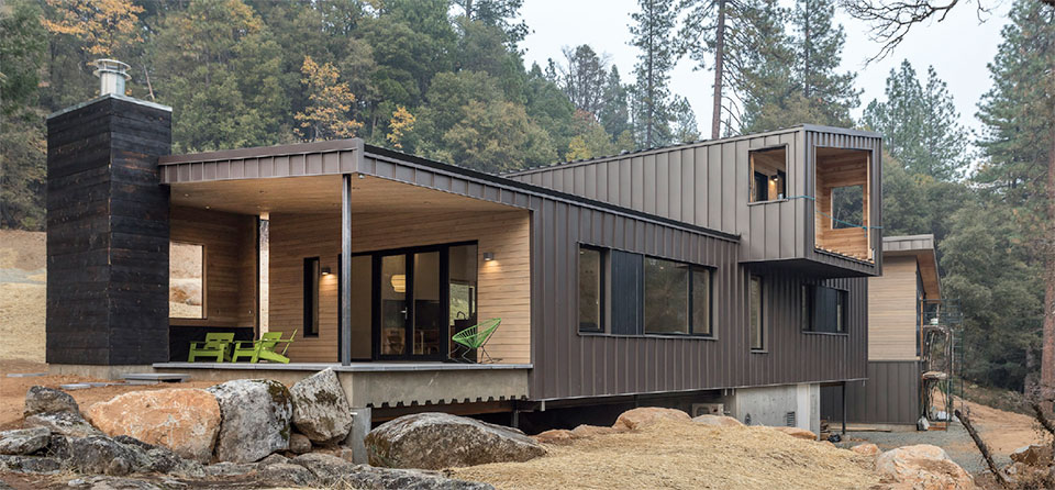 The Flexibility of Steel- Bend Metal Siding