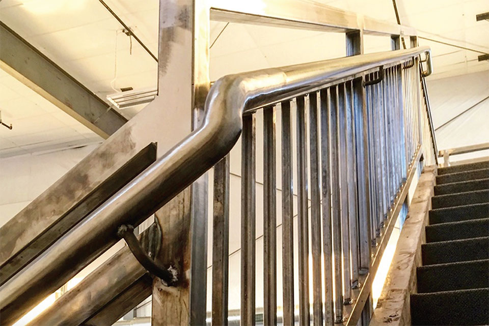 The Flexibility of Steel- Bend Railing