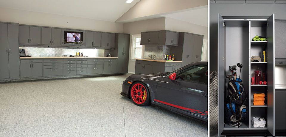 The Flexibility of Steel- Bend Garage and Cabinet
