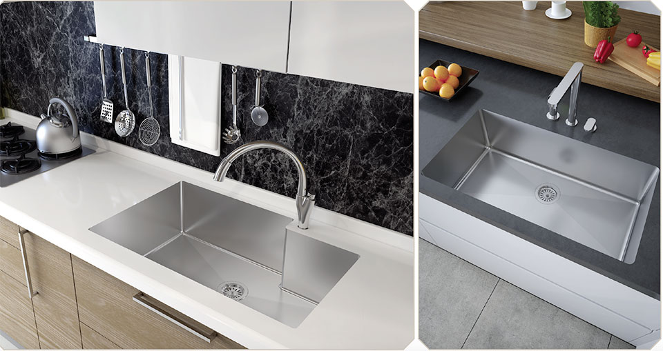 Cutting-Edge, Uniquely Personal- Bend Sink