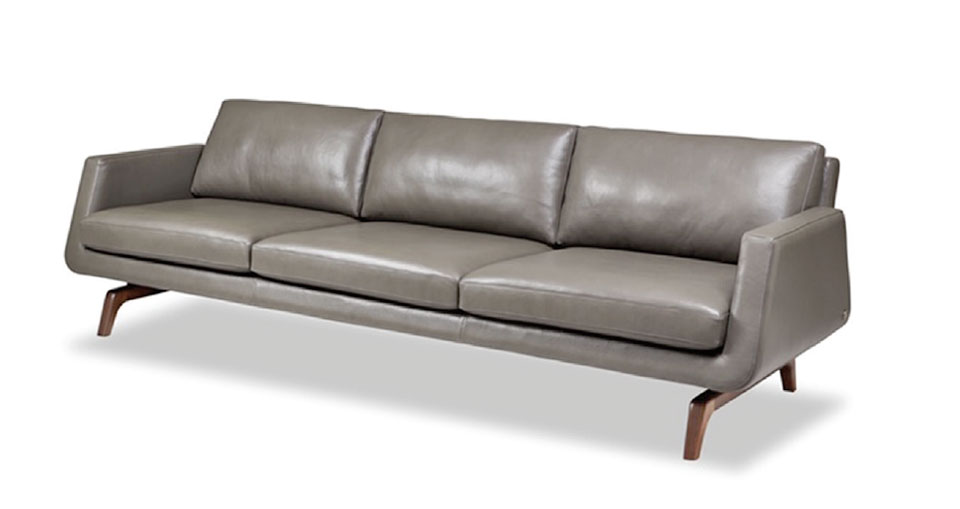 On The Hunt- Flathead Valley Grey Sofa