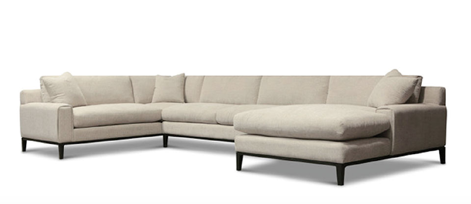 On The Hunt- Flathead Valley White Sofa
