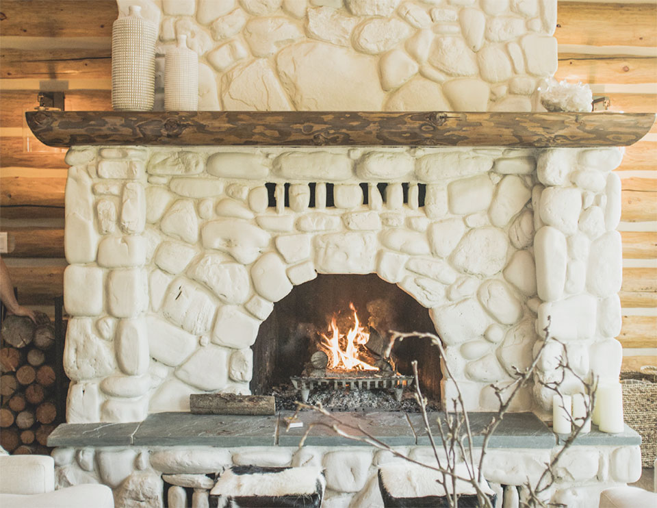 A LAKESIDE UPDATE- Flathead Valley  Fireplace