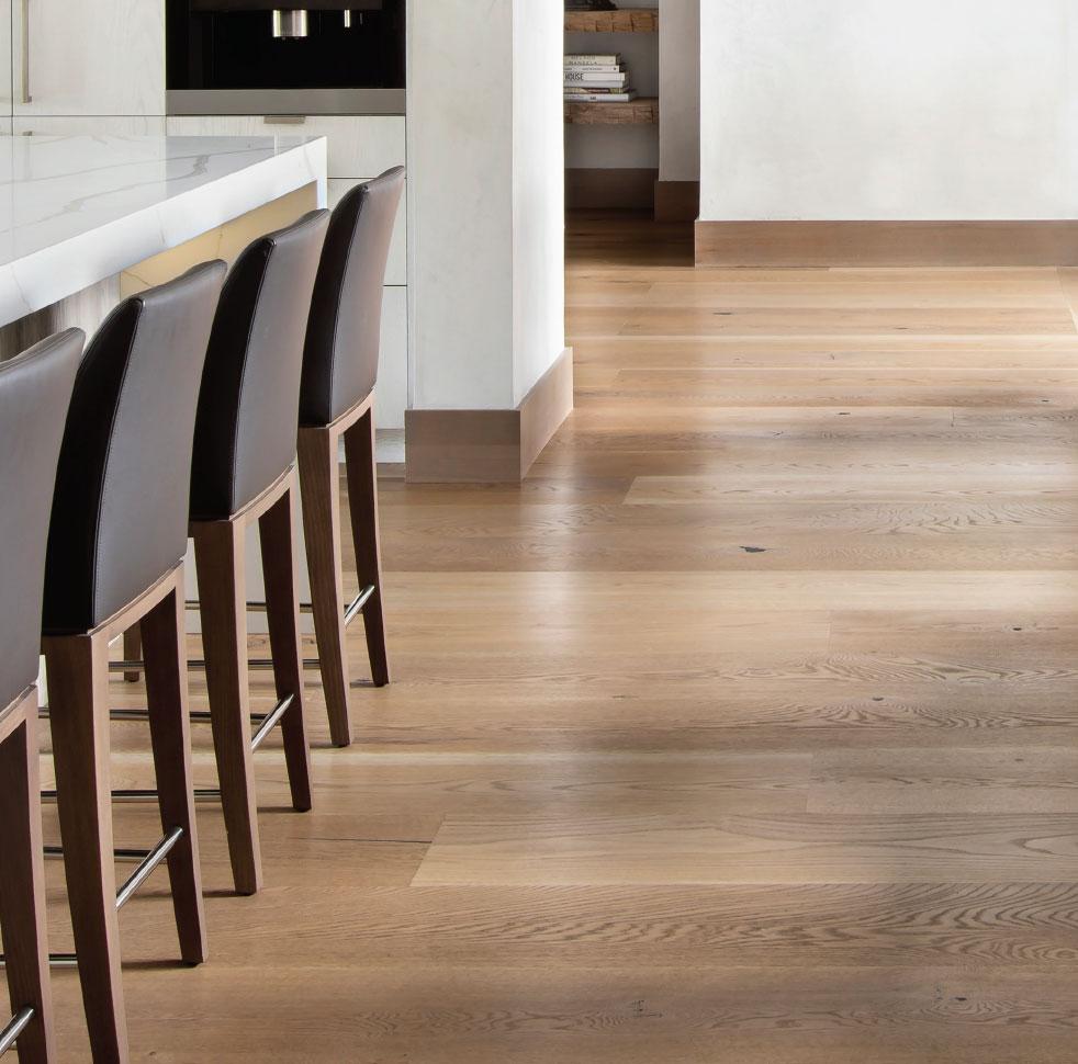 Flooring - The Foundation of Design- Bozeman-Big Sky Kitchen Floor