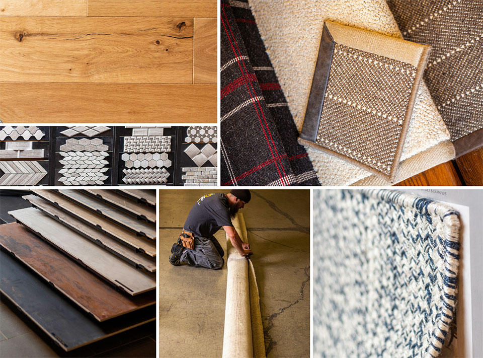 Flooring - The Foundation of Design- Bozeman-Big Sky Samples and Install