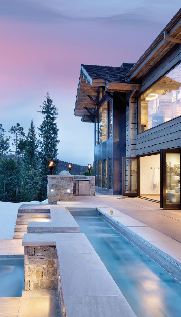 Project Round Table- Bozeman-Big Sky House Exterior