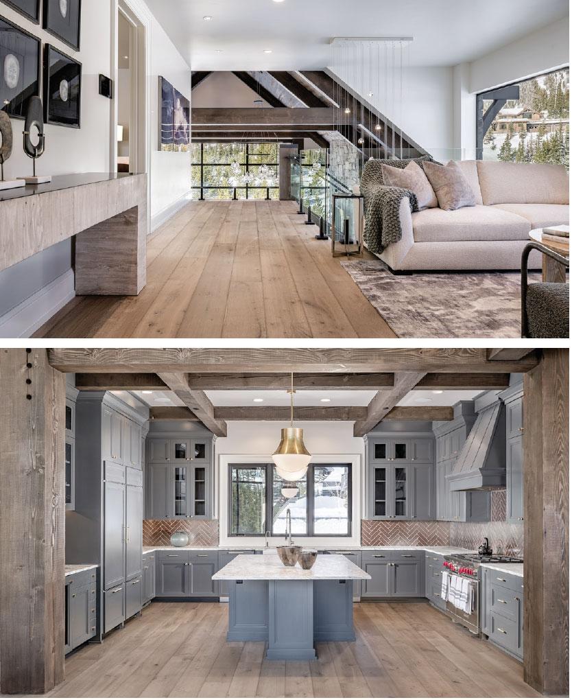 Schlauch Bottcher Construction- Bozeman-Big Sky Living Room and Kitchen