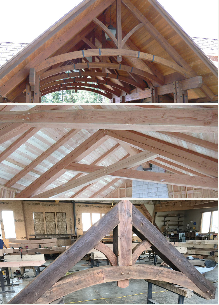 Big Timberworks- Sun Valley Trusses