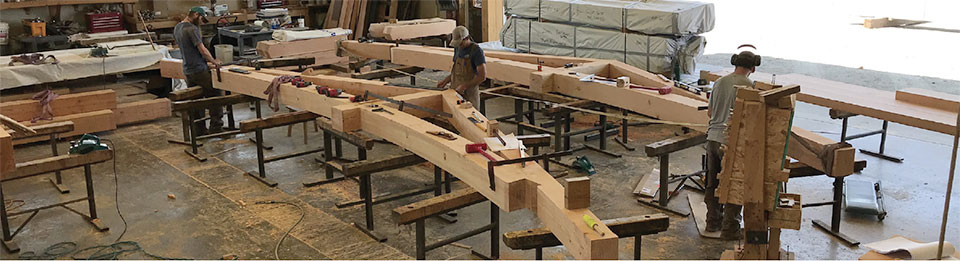 Big Timberworks- Bend Truss Building