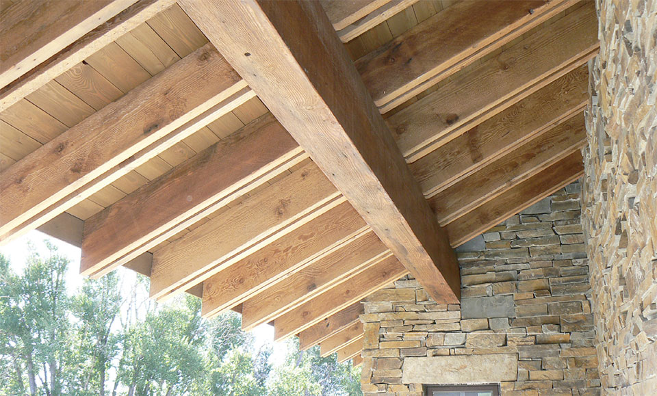 Big Timberworks- Bend Roof Overhang