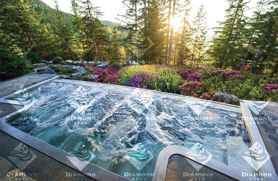 Diamond Spas- Jackson Hole Flowers and Forest