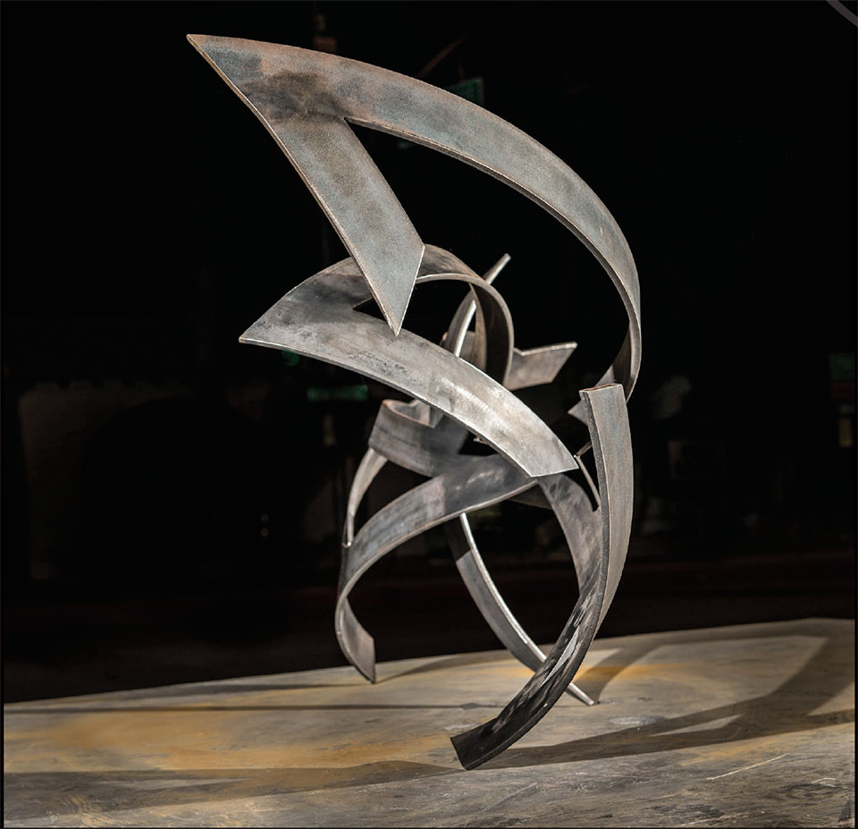 Art in Jackson- Jackson Hole Metal Sculpture 4