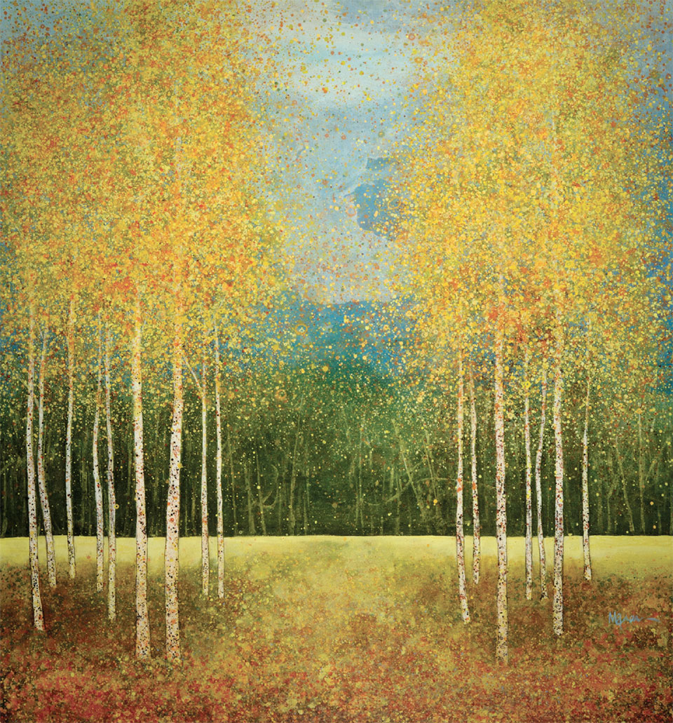 Art in Jackson- Jackson Hole Tree Painting 5