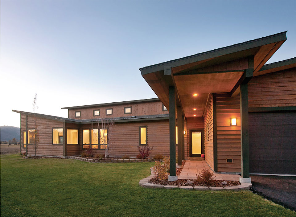 Dubbe Moulder Architects-Jackson Hole House Exterior