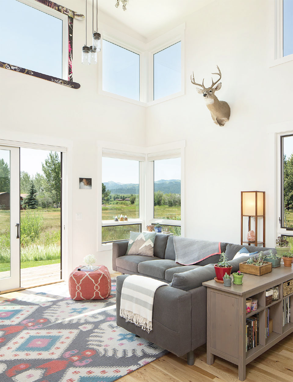 Dubbe Moulder Architects-Jackson Hole Living Room 2