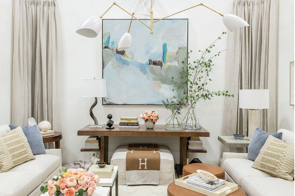 Anne Buresh Interior Design- Jackson Hole Living Room